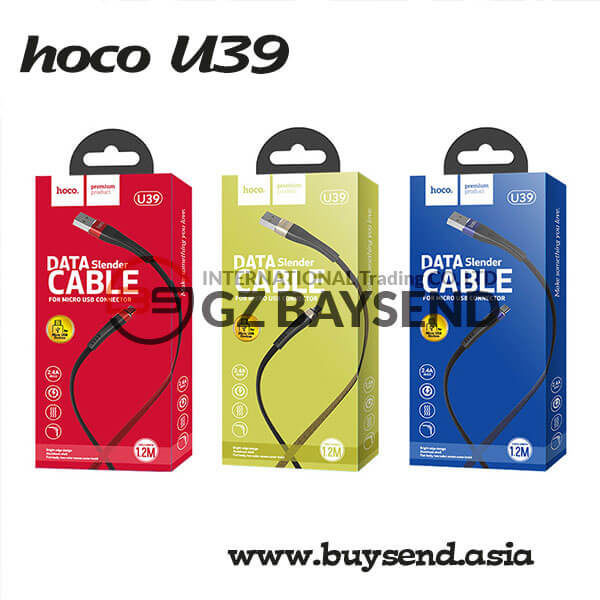 BaySend Asia U39 Slender Micro Usb Charging Data Cable